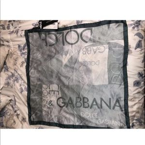 Dolce and Gabanna scarf
